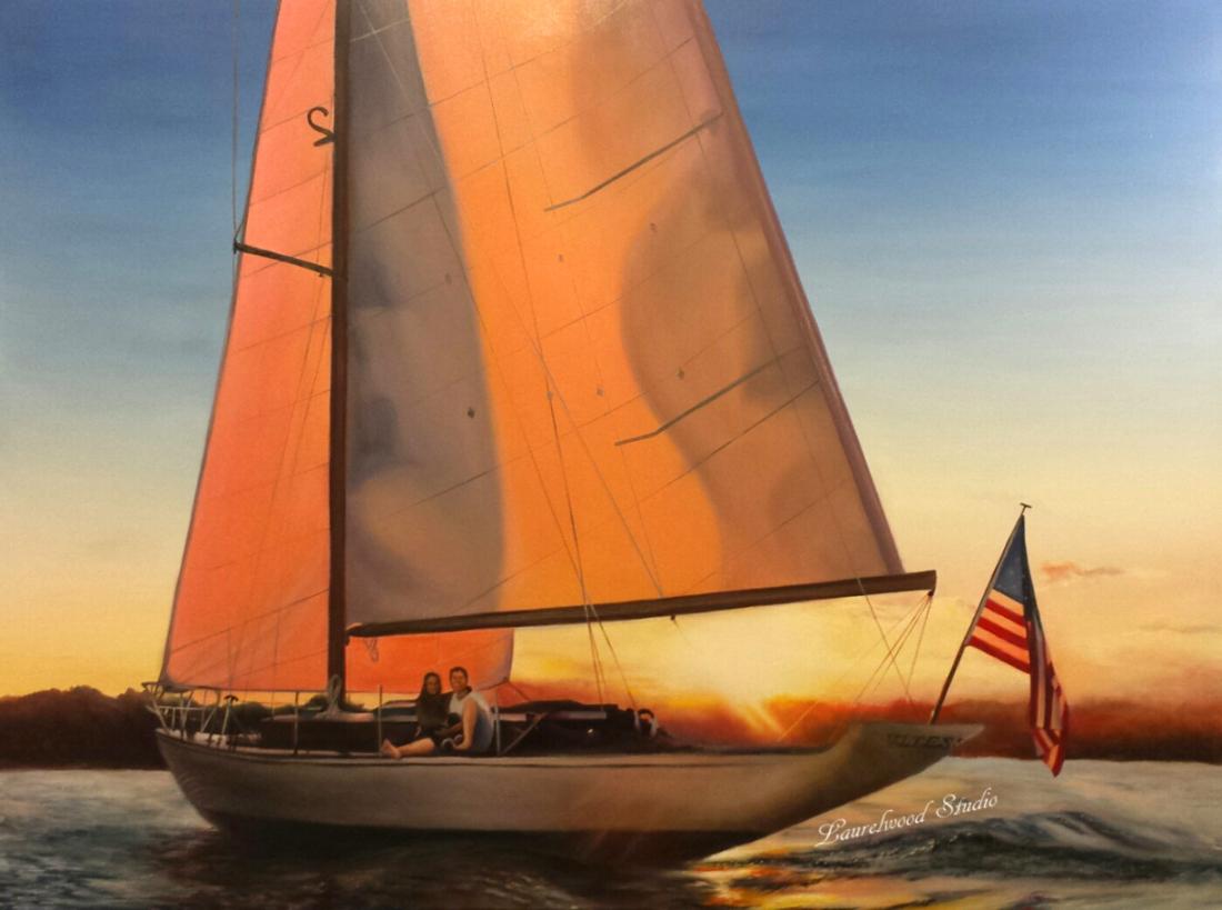 Sailboat - Watermarked