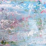 Acrylic and Caulk on Canvas