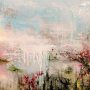 Oil, Acrylic, and Latex on Canvas